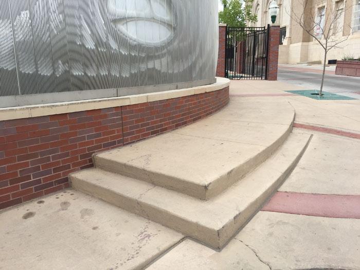 2016 08 09 ballpark corner steps